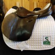 "Ainsley Pro National XC Saddle-17.5""-MediumWide-Brown"