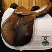 "Courbette All Purpose Saddle-16.5""-Medium-Brown"
