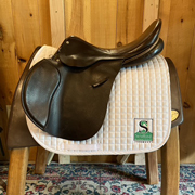 """Ainsley Chester All Purpose Saddle-17.5""""-Medium-Brown"""