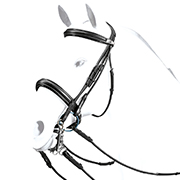 Equipe Rolled Double Bridle