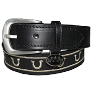 Equine Couture Children's Lee Leather Belt