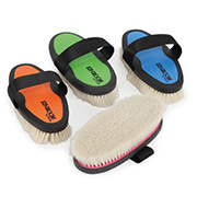 Shires Ezi-Groom Grip Goat Hair Body Brush