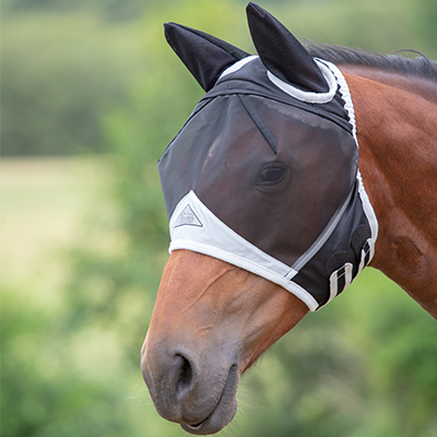 Shires Fine Mesh Fly Mask w/Ears