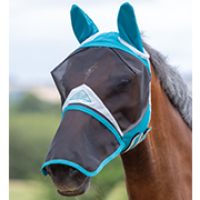 Shires Full Face Fly Mask w/Detachable Nose
