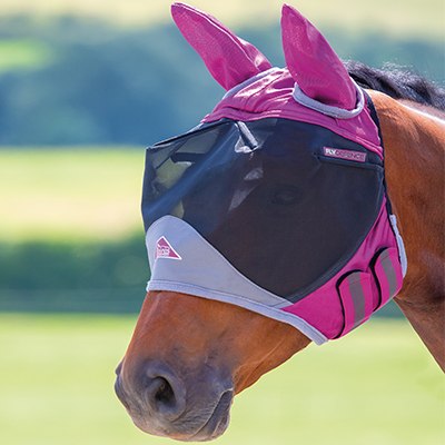 Shires Deluxe Fly Mask w/Ears