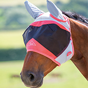 Shires Air Motion Fly Mask w/Ears