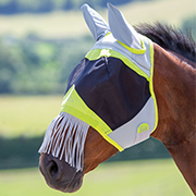 Shires Air Motion Fly Mask w/Nose Fringe