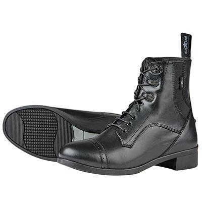 Saxon Syntovia Ladies Lace Paddock Boots