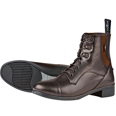 Saxon Syntovia Lace Paddock Boots Childs