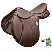 Bates Caprilli Close Contact+ (Ext) Luxe RearFB CAIR Saddle