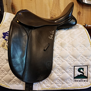 "Kottas Dressage Saddle-17.5""-#4Fit(MediumWide)-Black"