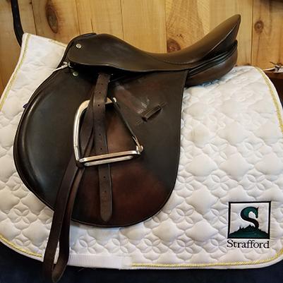 "Crosby Corinthain All Purpose Saddle-17""-Medium"