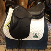 "Stubben Genesis C.L. Dressage Saddle Biomex-18""-28cm-Black"