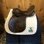 "Lovatt and Ricketts All Purpose Saddle-17.5""-Wide-Brown"