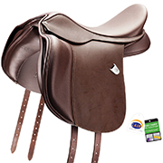Bates WIDE Heritage All Purpose Saddle