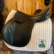 "Ideal All Purpose Saddle-17.5""-Medium-Black"