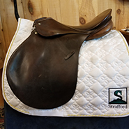 "Passier All Purpose Saddle-18""-Medium-Brown"