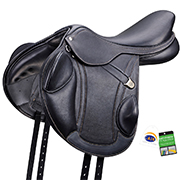 Bates Advanta Monoflap Jump Saddle