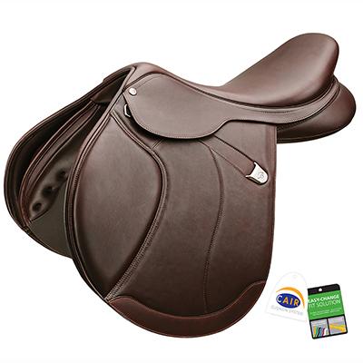 Bates Caprilli Close Contact+ (Fwd) Luxe RearFB CAIR Saddle