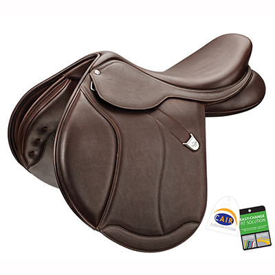 Bates Caprilli Close Contact+ Luxe RearFB CAIR Saddle