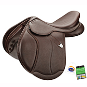 Bates Caprilli Close Contact+ Luxe RearFB CAIR Saddle