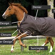 Horse Blanket Attributes