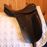 "County Connection Dressage Saddle-17.5""-Narrow-Black"