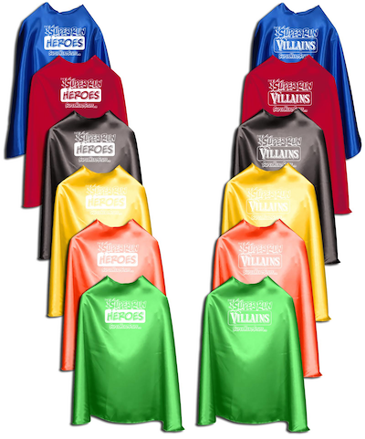 2017 Superhero Capes
