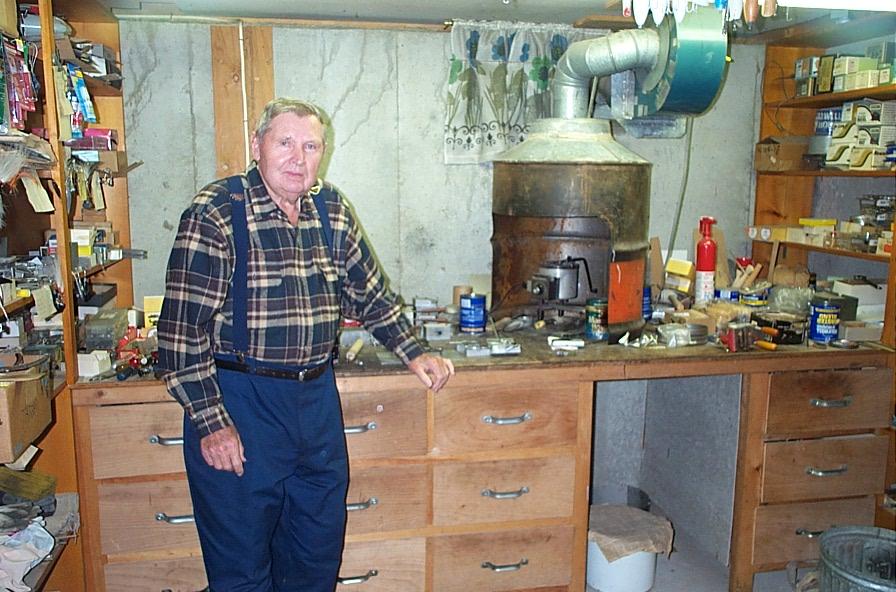 10 - stan in his workshop