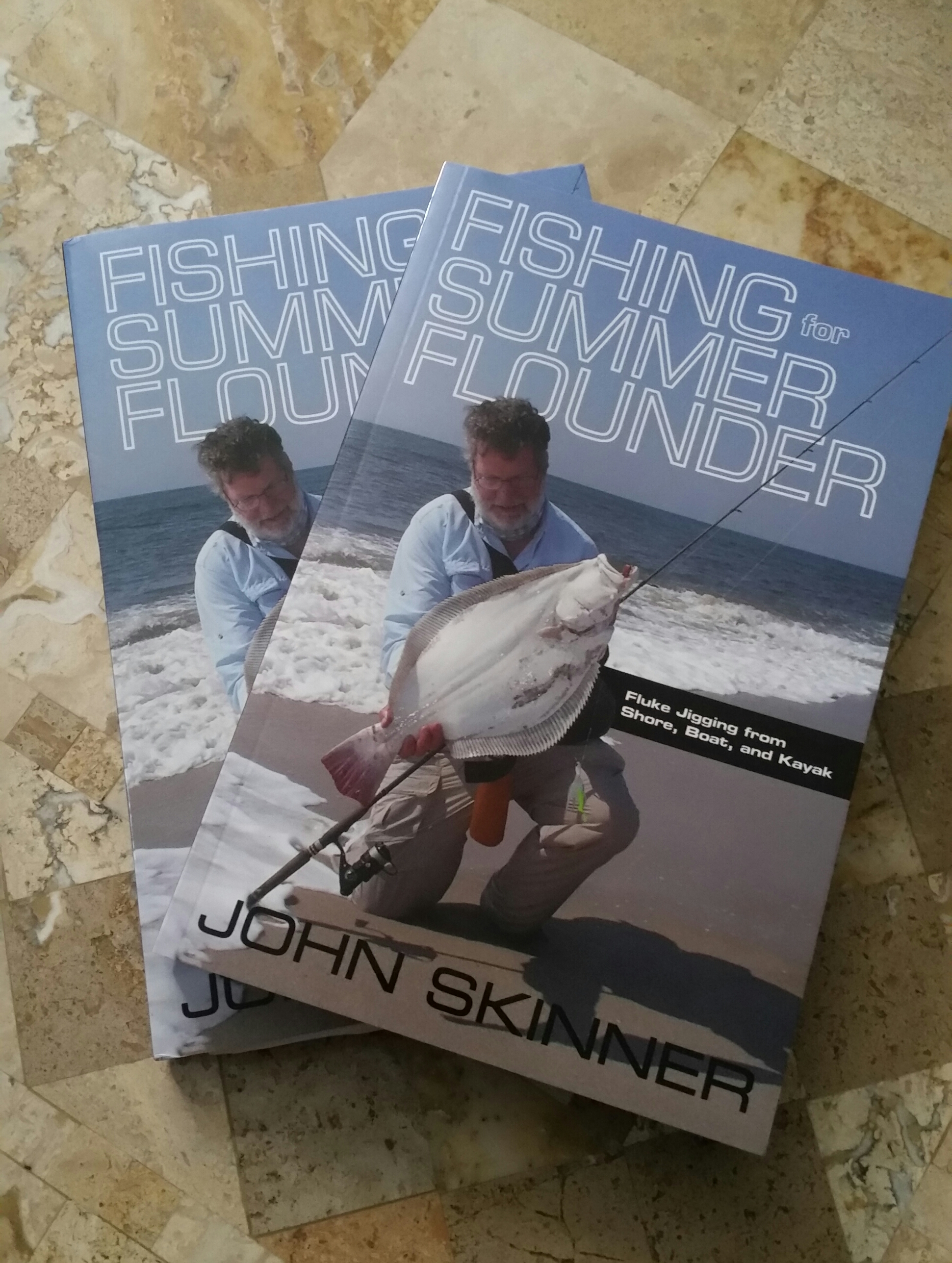 Win new book by john skinner fishing for summer flounder for John skinner fishing