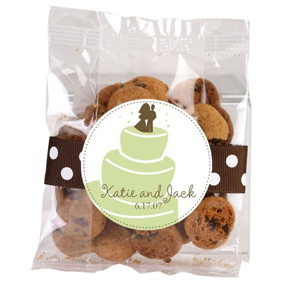 Personalized Chocolate Chip Cookies - 2 oz. Bags