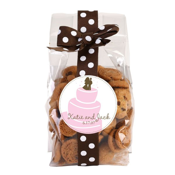 Personalized Chocolate Chip Cookies - 5 oz. Bags - Set of 12