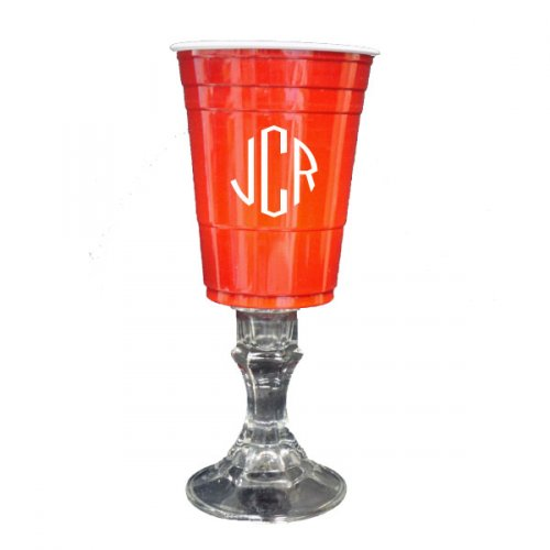 Redneck Tailgate Wine Glass