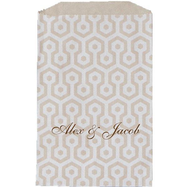 Paper Favor Bag Honeycomb Kraft