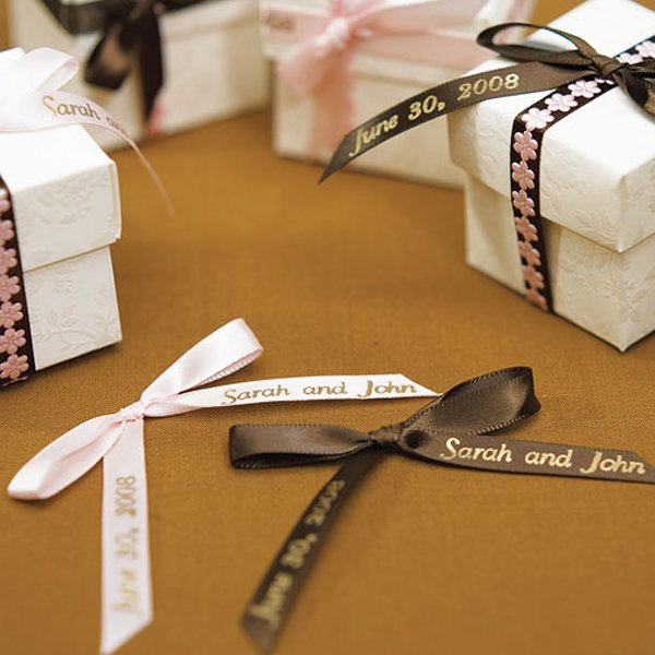 Personalized Double Faced Satin Ribbon for Bows