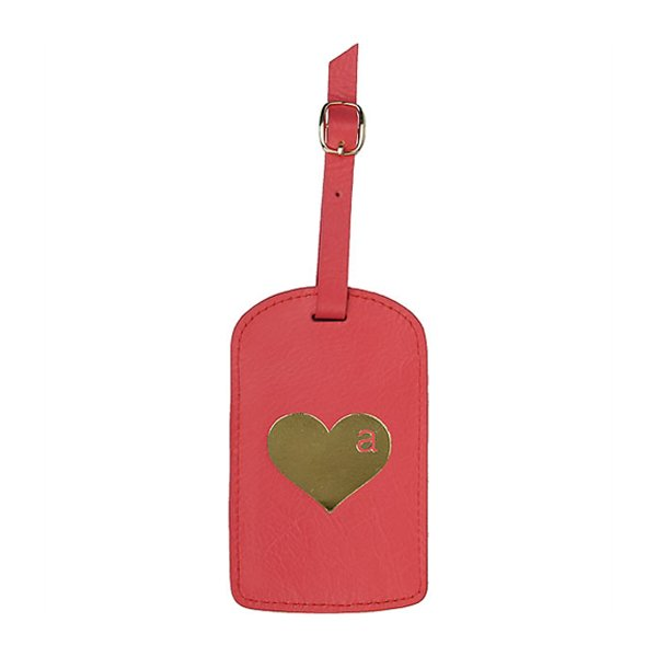 BLVD Amelia Luggage Tag Pink