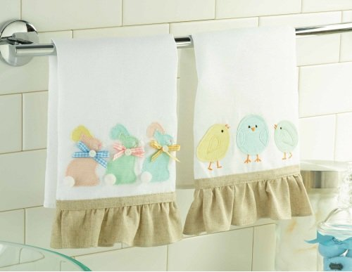 gifts for photographers bunny or easter linen towel 29917