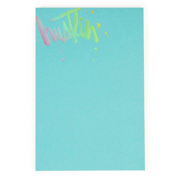 Hustlin Gold Foil Notepad