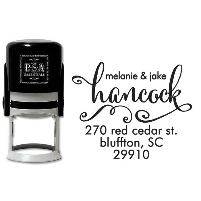Peel & Stick Stamper - Hancock
