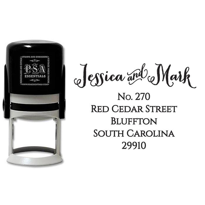 Peel & Stick Stamper - Jessica