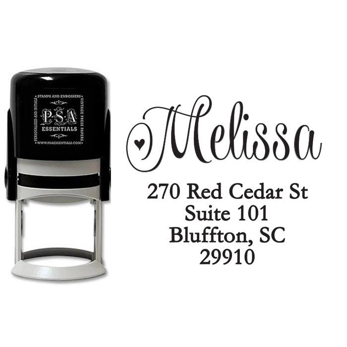 Peel & Stick Stamper - Melissa