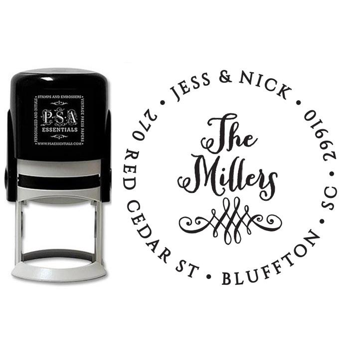 Peel & Stick Stamper - Miller