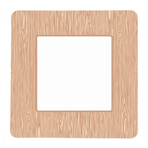 sc 1 st  Swoozies & Wood Grain Square Paper Plate