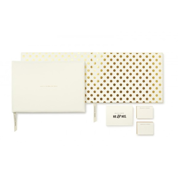 kate spade new york for the mr. & mrs. guest book