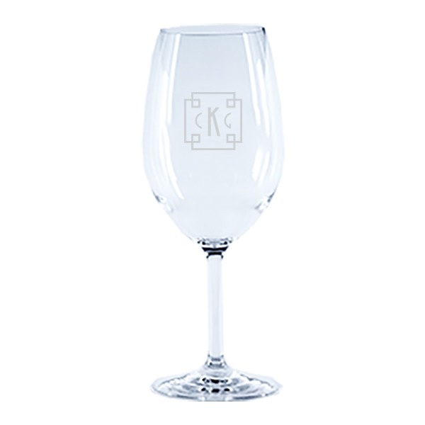 Personalized Tritan Acrylic 20.5oz Wine Glass