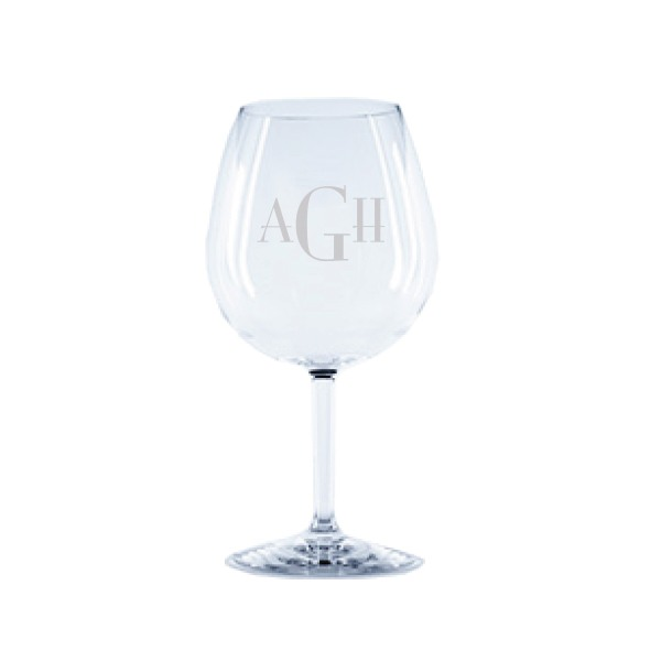 Personalized Tritan Acrylic 23oz Wine Glass