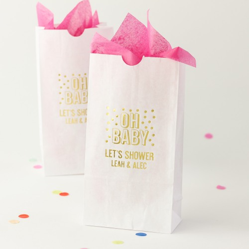 Personalized Baby Shower Goodie Bag
