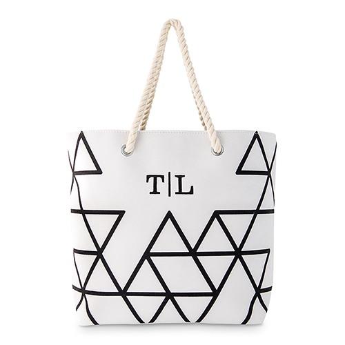 Geo Prism Tote Bag