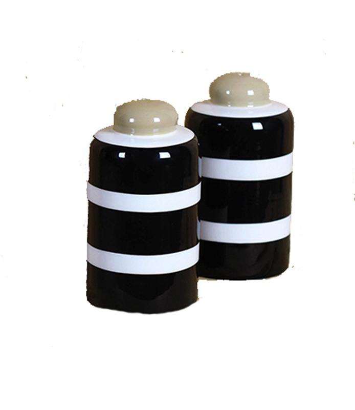 Plank Black Salt and Pepper Shaker