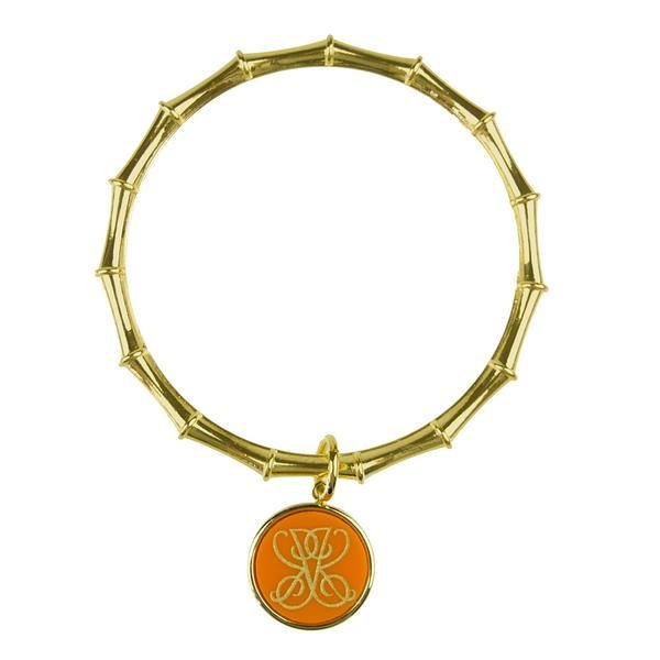 Moon and Lola - ML xx EM Bamboo Charm Bangle - Woven
